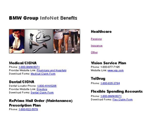 BMW Infonet Healthcare