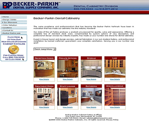 Becker Parkin Dental Cabinets